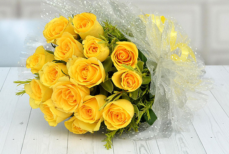 Không nên tặng hoa hồng vàng trong dịp sinh nhật bạn gái