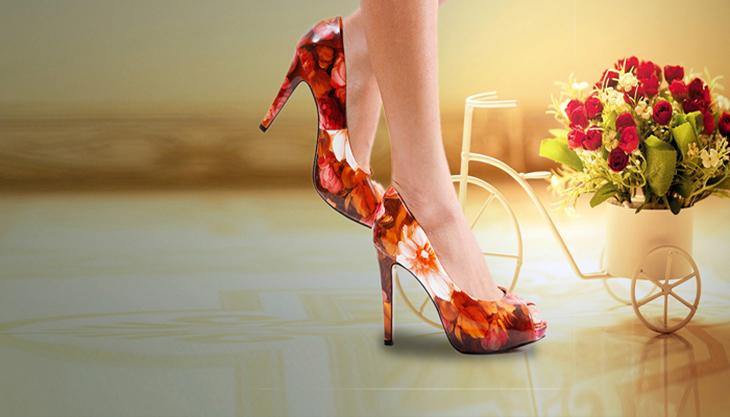 Hãy chọn cho bạn gái một đôi giày cao gót thật xinh nhân dịp sinh nhật