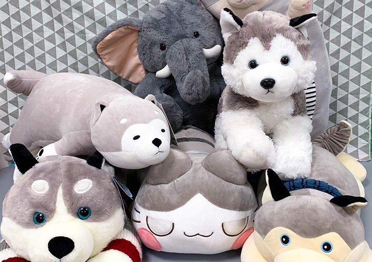 Gấu bông là món quà thật lãng mạn nhân dịp sinh nhật bạn nữ