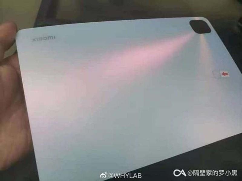 Mi Pad 5 lộ ảnh thực tế với cụm camera vuông vức cùng màn hình 120Hz