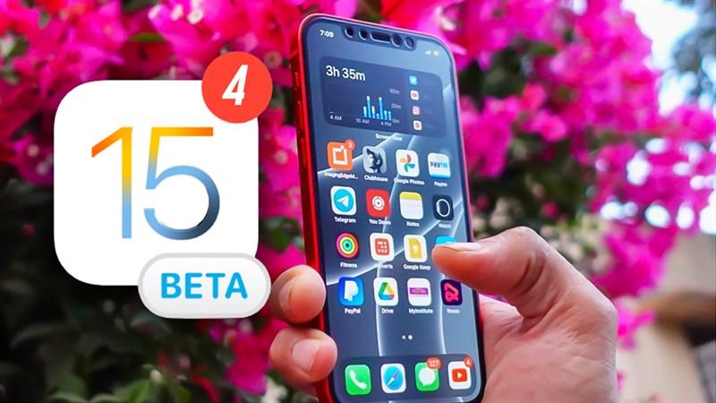 Cách cập nhật iOS 15 Beta 4