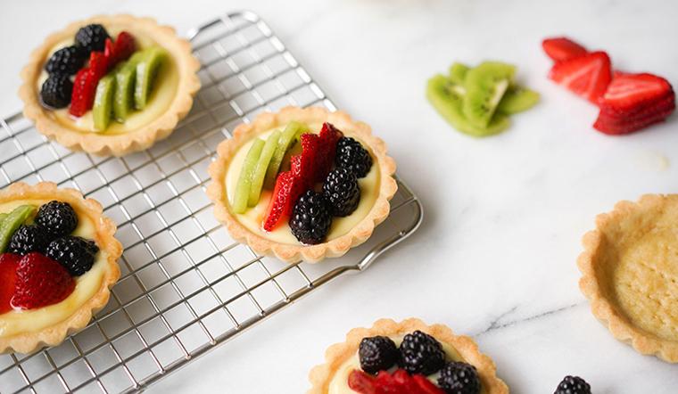 Công thức làm bánh tart trái cây vừa dinh dưỡng vừa đẹp mắt cho cả nhà đều mê