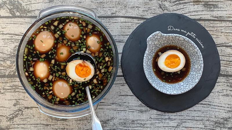 Trứng ngâm tương chuẩn vị Hàn Quốc