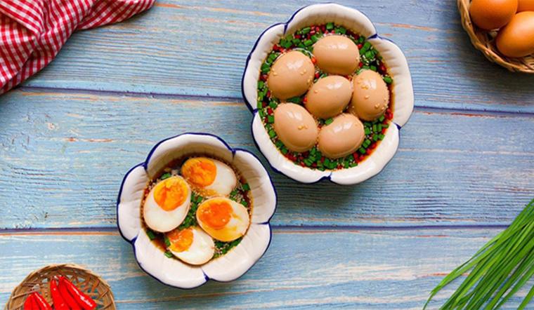 3 cách làm trứng ngâm tương thấm vị ăn cùng cơm là 'bá cháy'