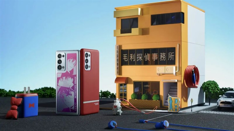 Reno6 Pro+ Detective Conan Edition ra mắt tại Trung Quốc