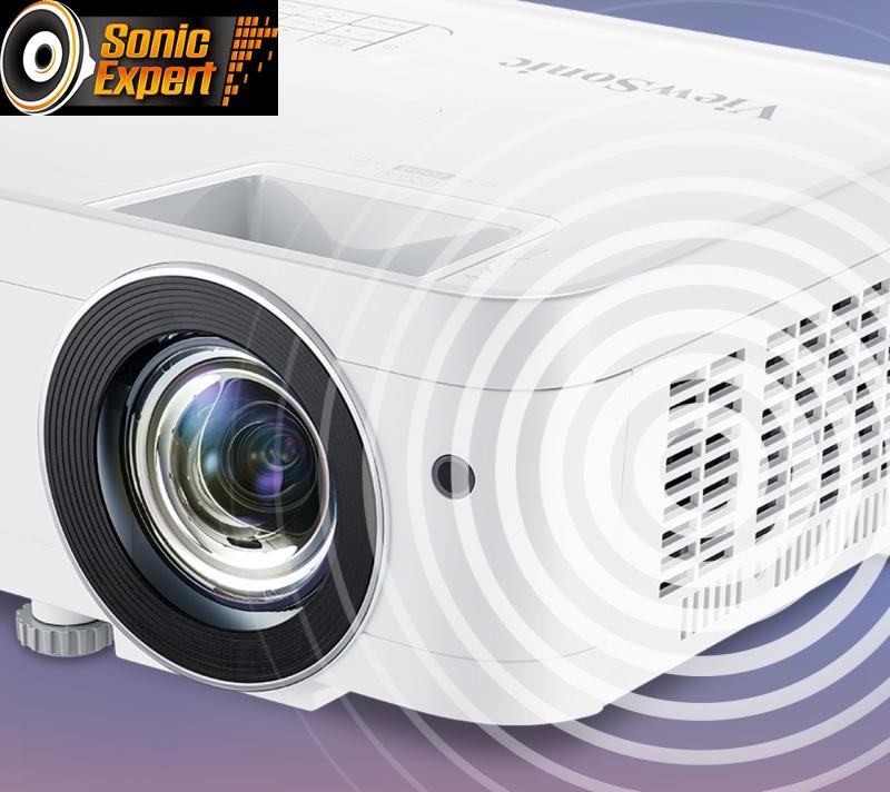 Công nghệ âm thanh độc quyền SonicExpert® mang đến cho người dùng âm thanh mạnh mẽ.