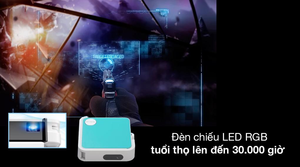 Máy chiếu Sonic sử dụng đèn LED RGB cho độ sáng cao