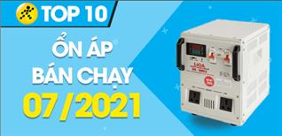 Top 10 Ổn áp bán chạy nhất tháng 7/2021 tại Điện máy XANH