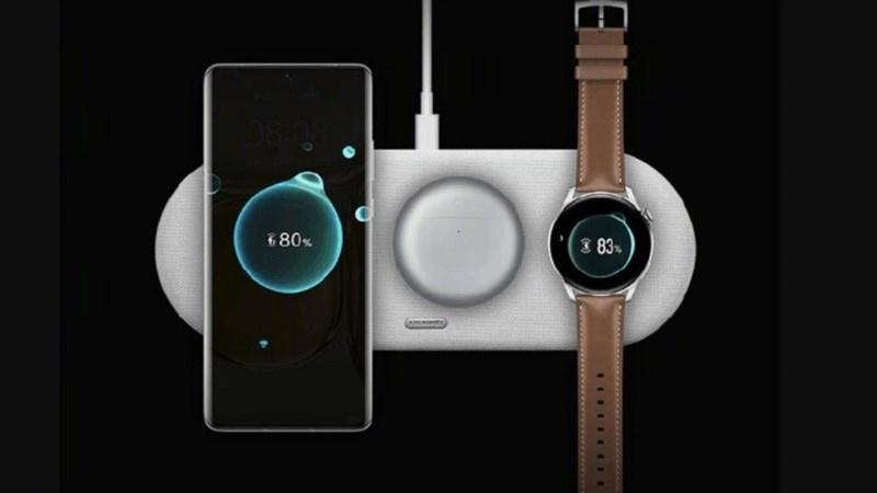 Huawei đã công bố bộ sạc không dây đa thiết bị