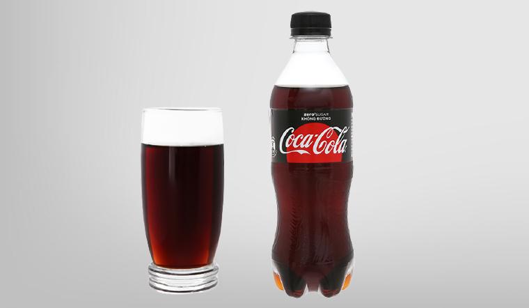 Trải nghiệm hương vị coke zero với bao bì và công thức cải tiến mới