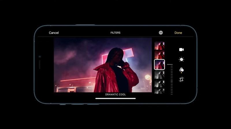 iPhone 13 Pro thêm tính năng quay video xóa phông, định dạng ProRes và bộ lọc mới