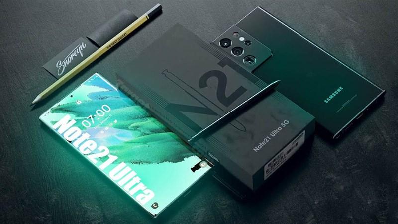 Cấu hình Galaxy Note 21 Ultra: Siêu phẩm RAM 16GB, camera 108 MP và...