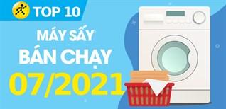 Top 10 Máy sấy quần áo bán chạy nhất tháng 7/2021 tại Điện máy XANH