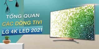 Tổng quan các dòng tivi LG 4K LED 2021
