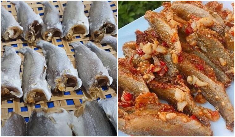 2 cách làm khô cá đù 1 nắng và khô cá đù chấy tỏi thơm ngon, đơn giản tại nhà