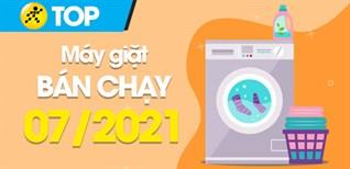 Top 10 Máy giặt bán chạy nhất tháng 7/2021 tại Điện máy XANH