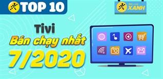 Top 10 Tivi bán chạy nhất tháng 7/2021 tại Điện máy XANH