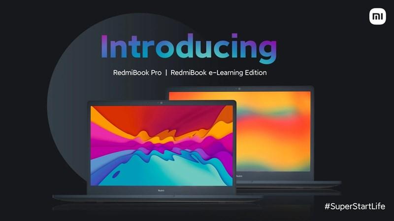 RedmiBook Pro và RedmiBook e-Learning Edition ra mắt: Chạy CPU Intel Core i thế hệ 11, sạc nhanh 65W, giá từ 13 triệu đồng
