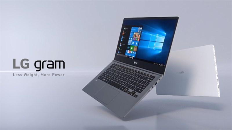 LG cho ra mắt dòng LG Gram: chip Intel thế hệ 11, thân máy siêu nhẹ