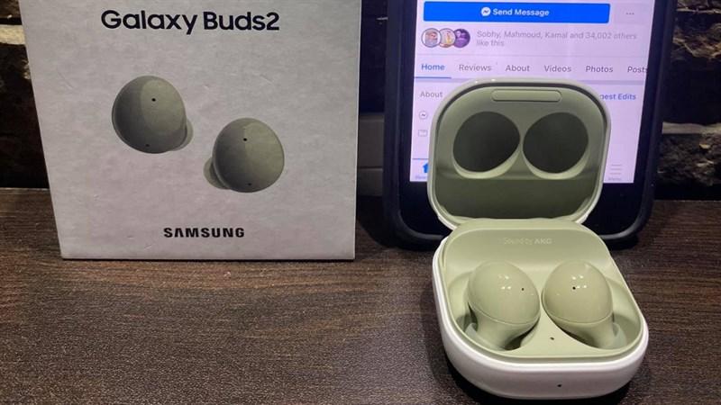Mở hộp Galaxy Buds 2 màu trắng trước ngày ra mắt: Thời gian sử dụng lên tới 25 tiếng, chống ồn rất tốt và có 4 màu