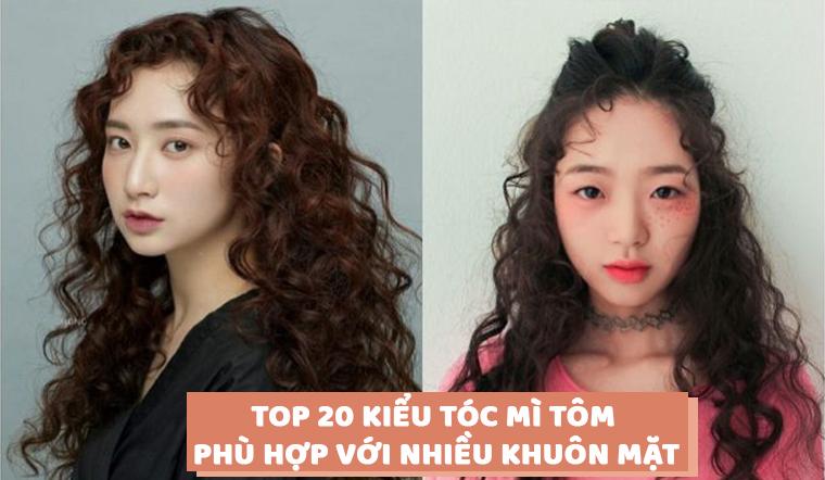 Top 20 kiểu tóc mì tôm đẹp cá tính phù hợp với nhiều gương mặt