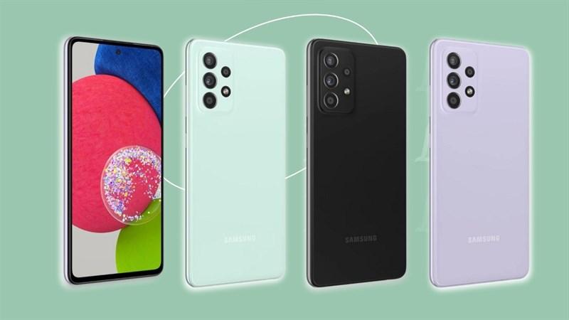 Galaxy A52s được FCC chứng nhận