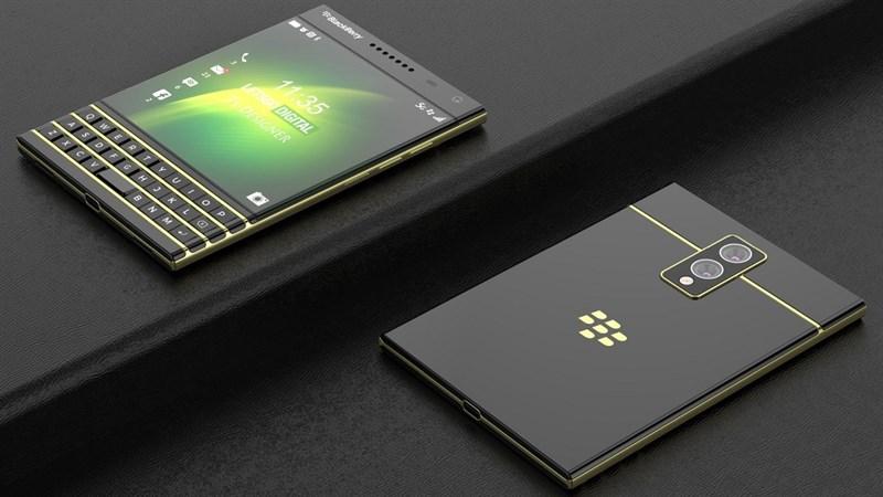 Xuất hiện concept của BlackBerry Passport 2 5G với thiết kế độc đáo, hiện đại hơn nhưng vẫn có bàn phím vật lý quen thuộc