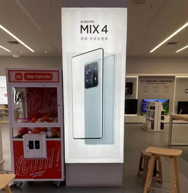 Chưa kịp ra mắt, poster quảng cáo Xiaomi Mi MIX 4 đã xuất hiện trên mạng, tiết lộ thiết kế và cụm camera hoành tráng