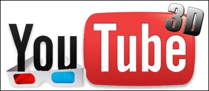 Ứng dụng Youtube dạng 3D