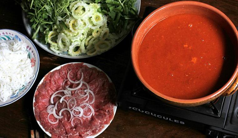 Cách nấu bò nhúng ớt, cay thơm ngon khó cưỡng