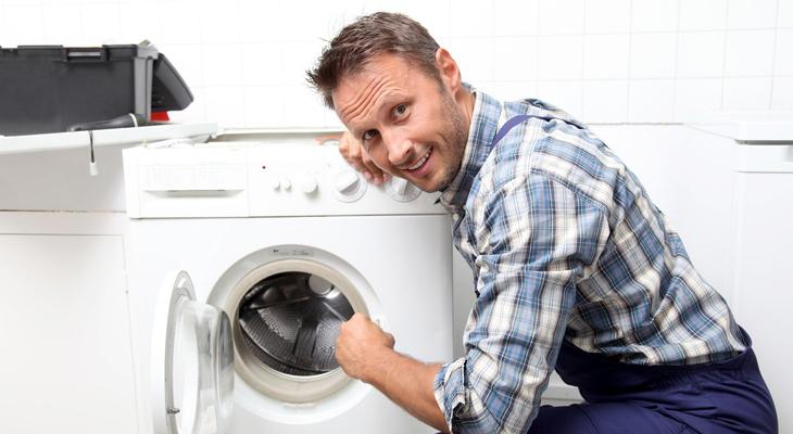 Cửa máy giặt bị hỏng