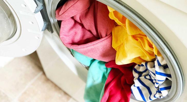Máy giặt bị quá tải