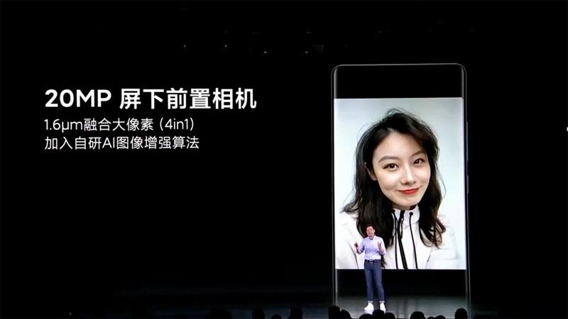 Xiaomi Mi Mix 4 có camera ẩn dưới màn hình thời thượng
