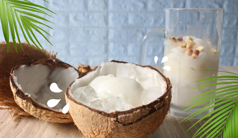 Cách làm dừa sáp dầm sữa thơm béo siêu ngon cực đáng tiền