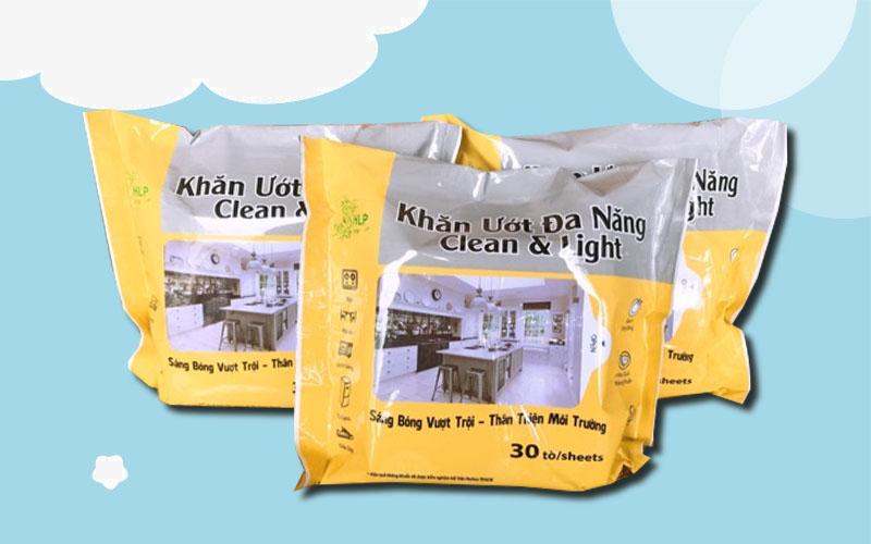 Khăn ướt đa năng HLP Clean & Light