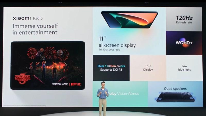 Xiaomi ra mắt Mi Pad 5 tại thị trường quốc tế