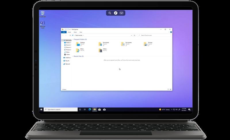 Với Windows 365, một hệ điều hành có thể chạy trên trình duyệt web của bất kỳ thiết bị nào đã không còn là điều tưởng tượng. Nguồn: Microsoft.