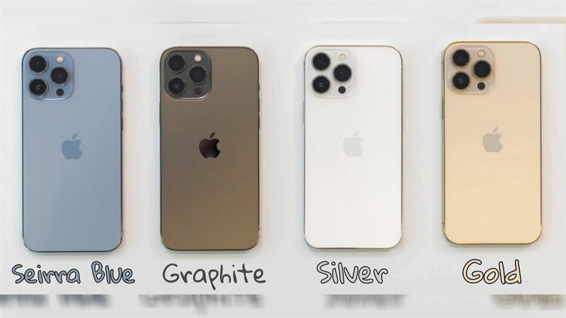 iPhone 13 Pro màu nào đẹp nhất? iPhone 13 Pro có bao nhiêu màu?