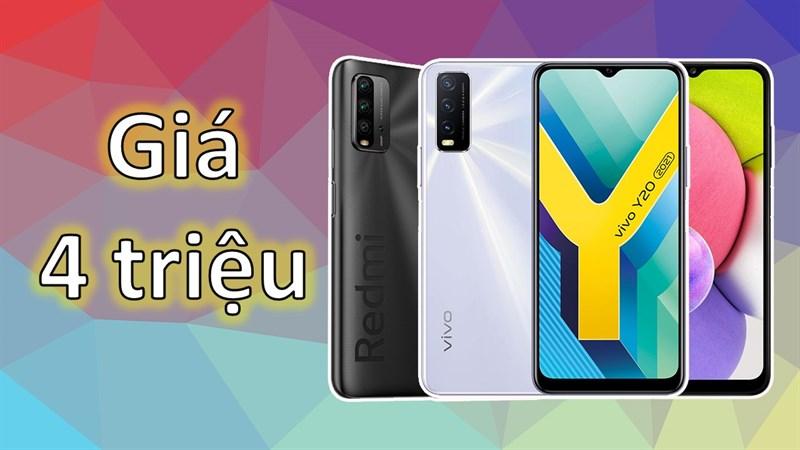 TOP 5 điện thoại dưới 4 triệu đáng mua nhất đợt sale tháng 9 tại Thế Giới Di Động, toàn là điện thoại pin trâu có màn hình lớn