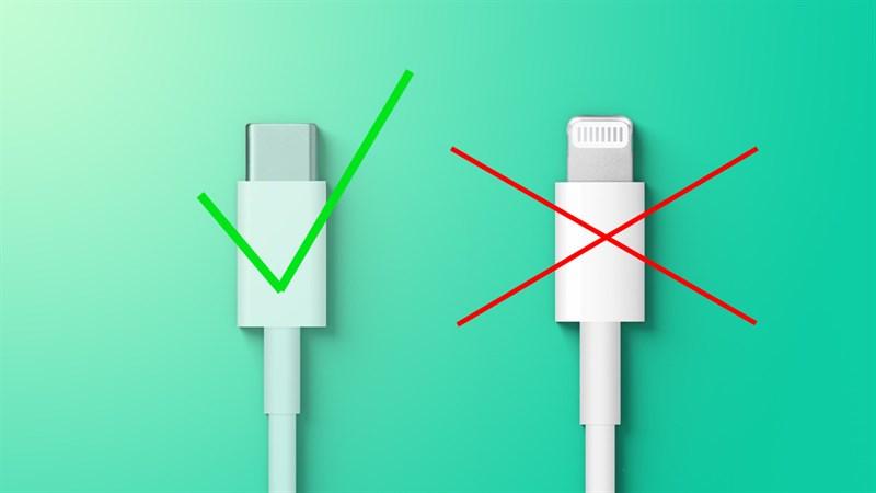 Apple có thể phải loại bỏ cổng sạc Lightning