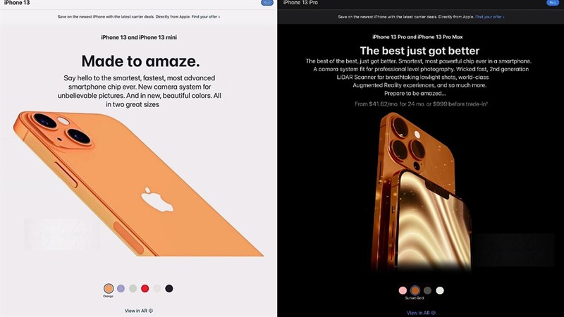 iPhone 13 và loạt sản phẩm sắp ra mắt xuất hiện trên website của Apple