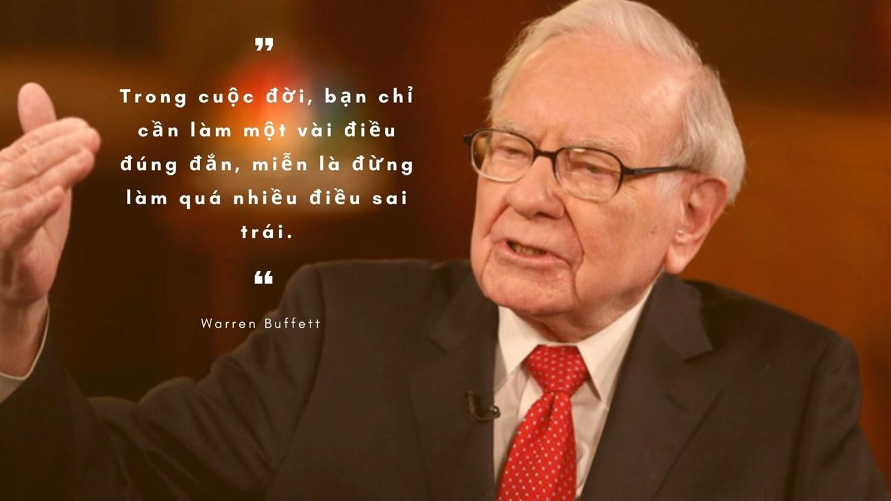Những câu nói nổi tiếng, kinh điển của Warren Buffet