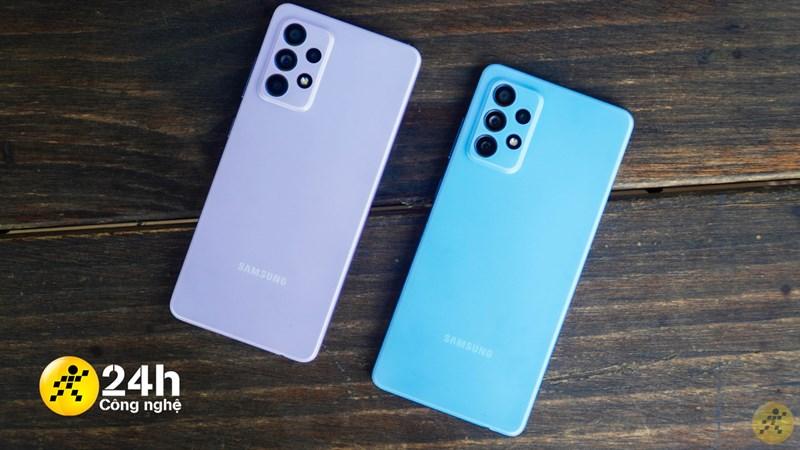 Galaxy A52 và A72