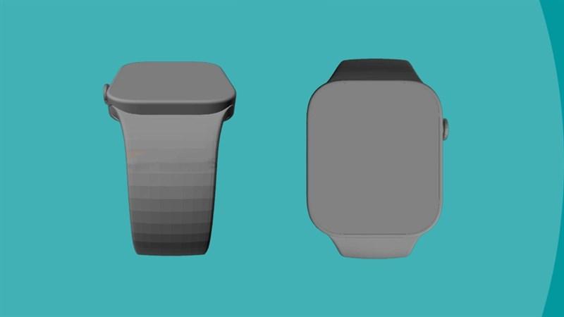 Bản vẽ CAD Apple Watch Series 7
