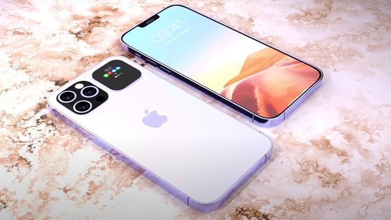 Trầm trồ trước thiết kế của mẫu iPhone 13 Pro được trang bị màn hình phụ, phần notch nhỏ gọn và không cổng cắm