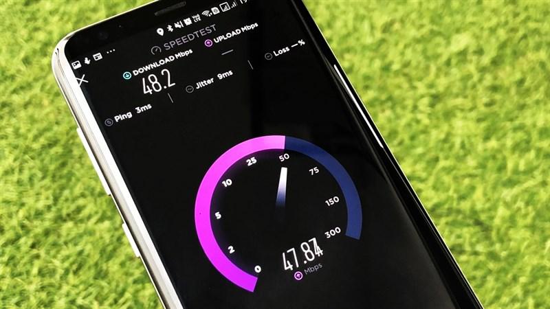 Cách kiểm tra tốc độ mạng bằng điện thoại