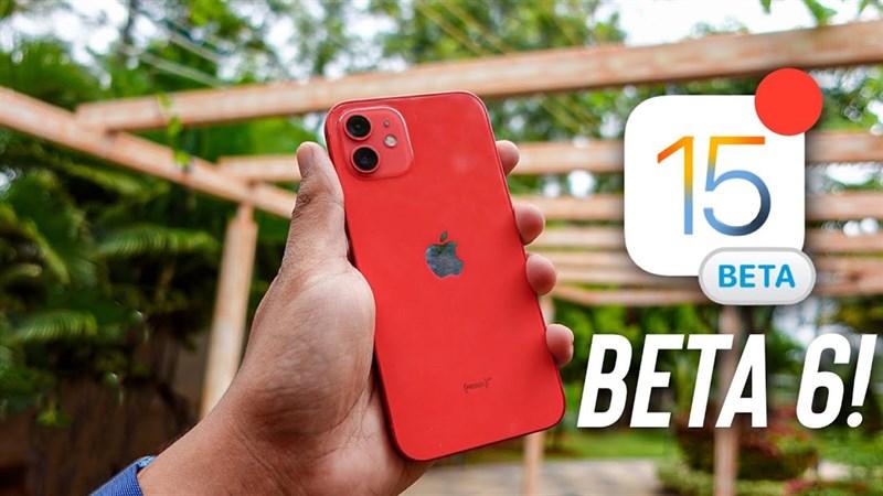 cách cập nhật iOS 15 beta 6