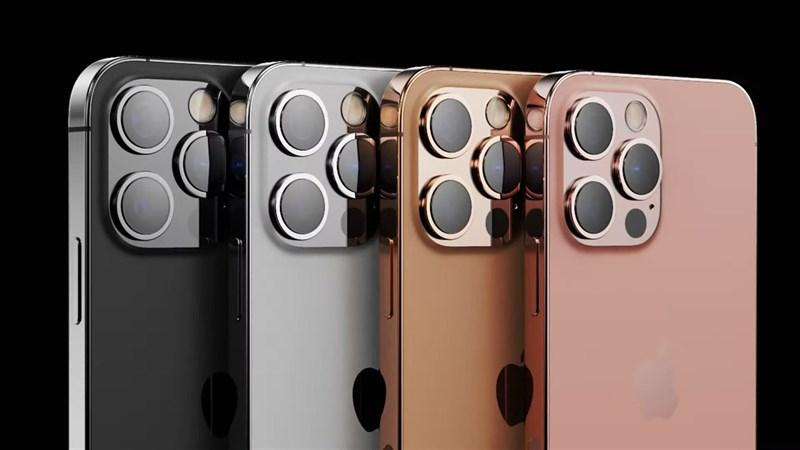 iPhone 13 Pro Max với 4 tùy chọn màu sắc. Nguồn: LetsGoDigital.