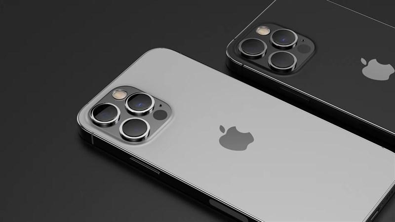iPhone 13 Pro Max vẫn sẽ sở hữu khung viền vuông vức, mặt lưng kính nhám cùng màn hình tai thỏ nằm ở phía trước. Nguồn: LetsGoDigital.