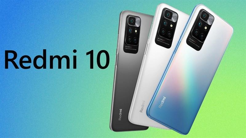 Redmi 10 chính thức ra mắt